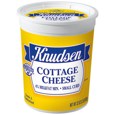 Knudsen Small Curd Cottage Cheese 32 oz Tub