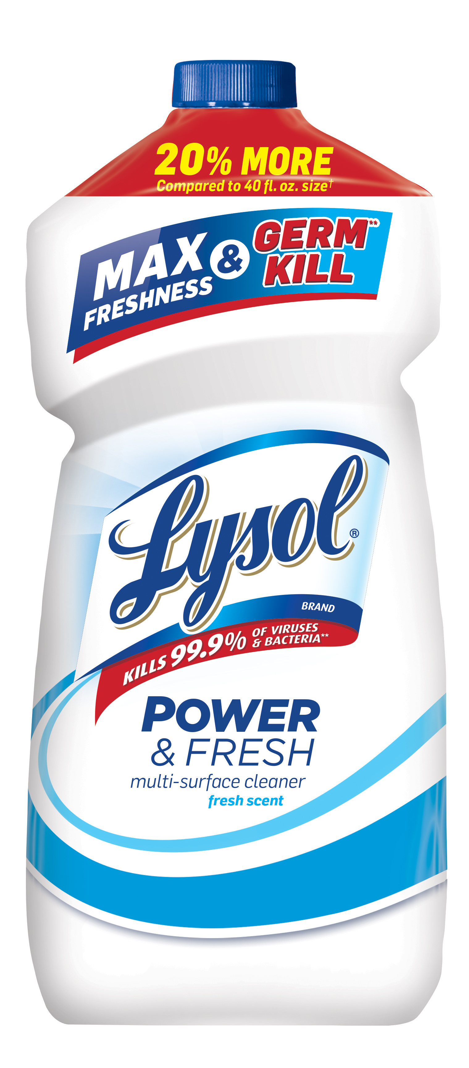 Lysol Clean & Fresh Multi-Surface Cleaner, Fresh, 48oz