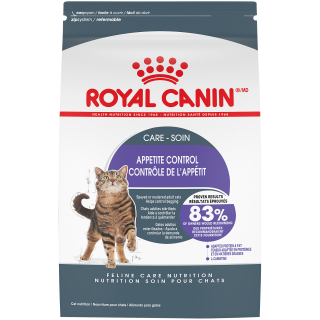 CONTRÔLE DE L'APPÉTIT– nourriture sèche pour chats