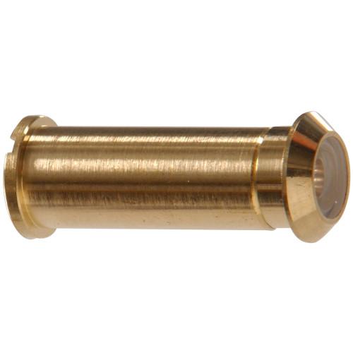 160 Degree Solid Brass/Bright Brass Door Viewer