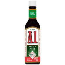 A.1. Bold & Spicy TABASCO® Steak Sauce, 10 oz Bottle