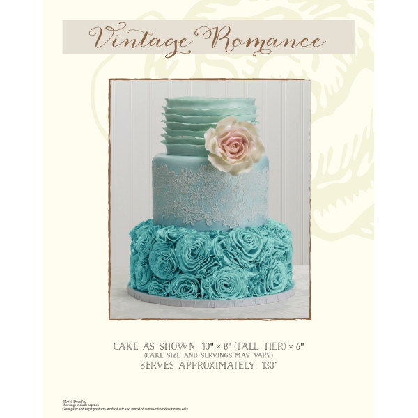 Vintage Romance Wedding The Magic of Cakes® Page