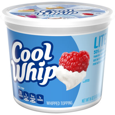 Cool Whip Lite Whipped Topping 16 oz Tub