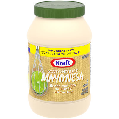 Kraft Real Mayonnaise with Lime Juice 30 fl oz Jar