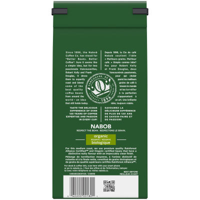 Nabob Organic Reserve Ground Coffee