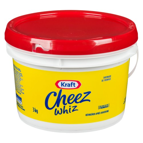 CHEEZ WHIZ Processed Cheese Spread 3kg 1