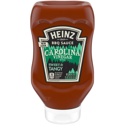 Heinz Carolina Vinegar Style Tangy BBQ Sauce 18.6 oz Bottle