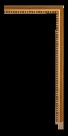 Allegra Antique Gold 3/4