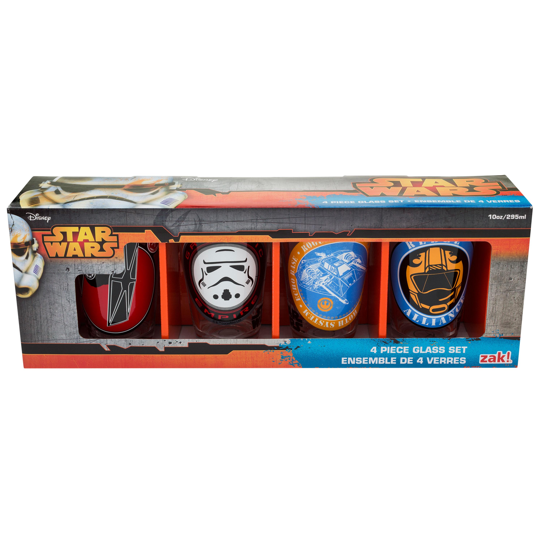 Star Wars Juice Glass, Galactic Empire, Rogue Leader & Rebel Alliance slideshow image 1