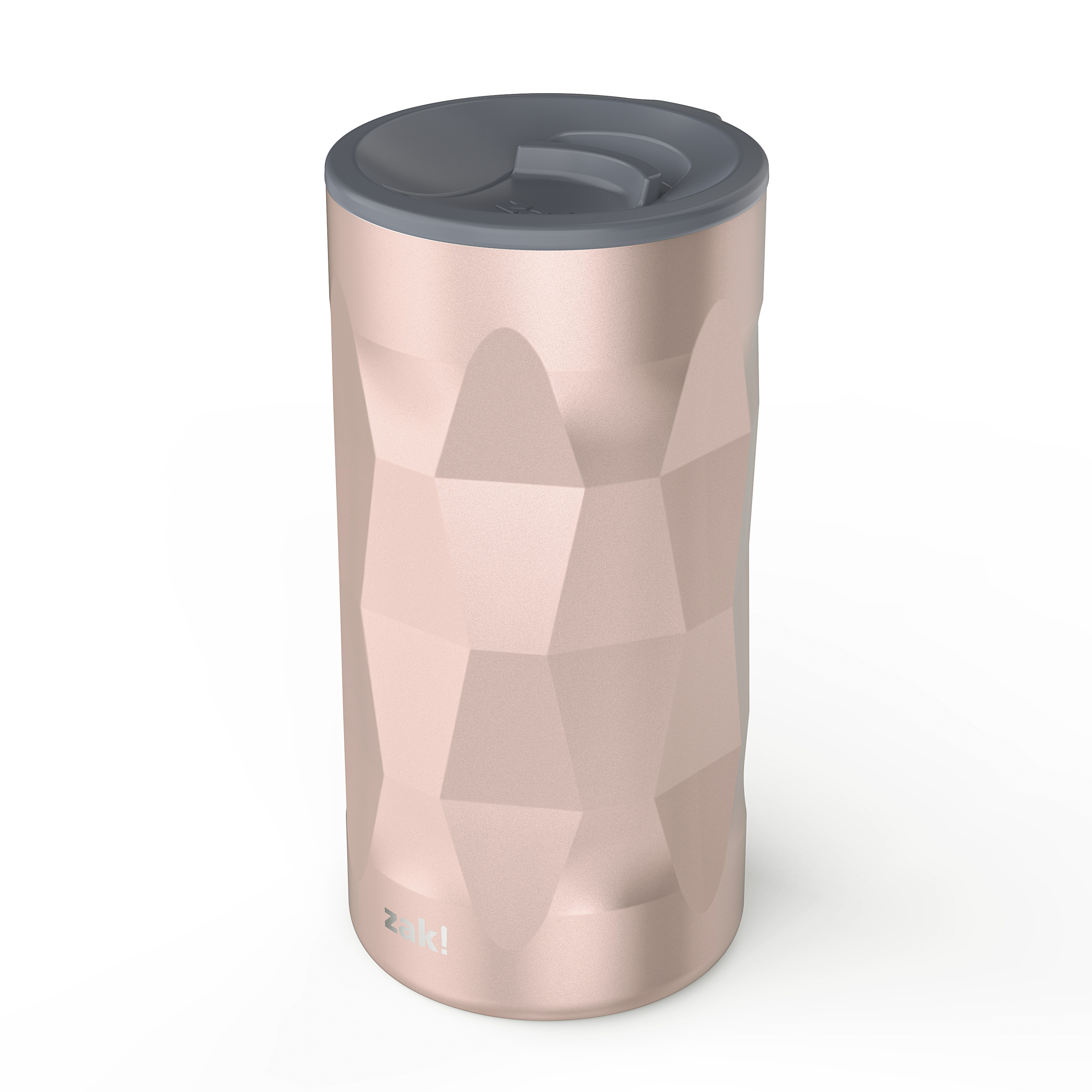 Fractal 12 ounce Vacuum Insulated Stainless Steel Tumbler, Rose Gold slideshow image 2