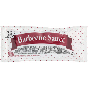 PPI Single Serve Barbecue Sauce, 12 gr. Sachets (Pack of 200) image