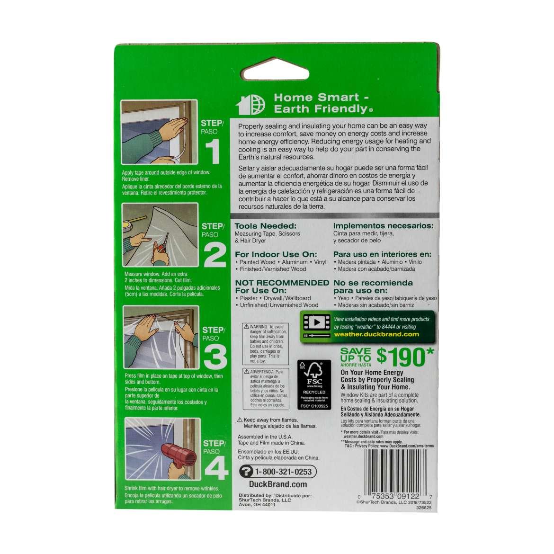 Shrink Film Window Insulation Kit