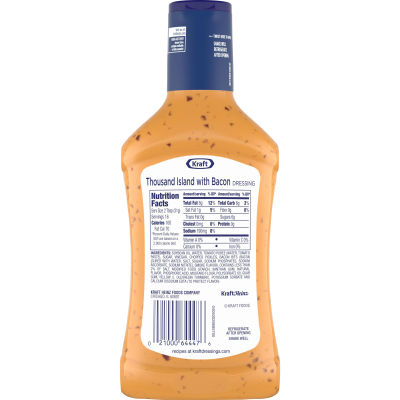 Kraft Thousand Island with Bacon Dressing 16 fl oz Bottle