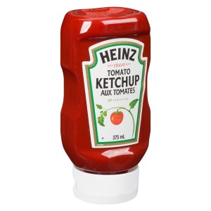 HEINZ Ketchup Upside Down Bottle Kosher 375ml 24 image
