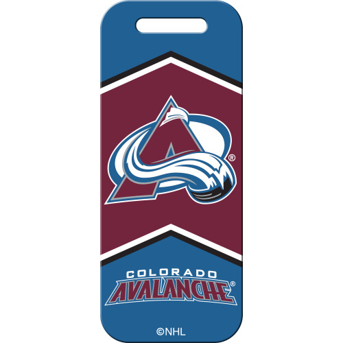 Colorado Avalanche Large Luggage Quick-Tag 5 Pack