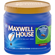 Maxwell House Decaf Original Roast Ground Coffee 29.3 oz Jug