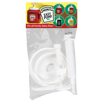 Heinz Easy Assembly Pump For Ketchup & Mustard Containers 1 Count Bag