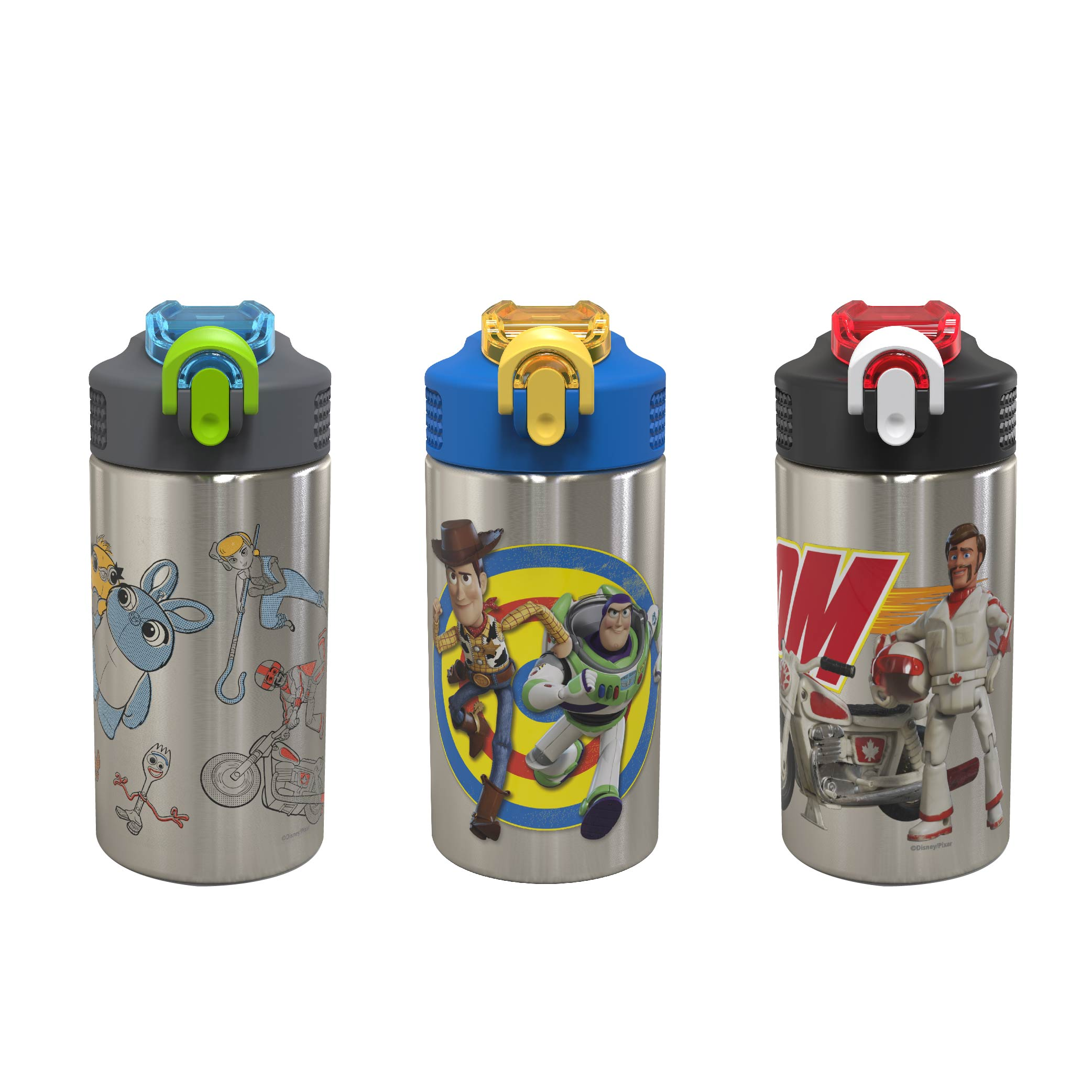 Toy Story 4 15.5 ounce Water Bottle, Buzz, Woody & Friends slideshow image 6