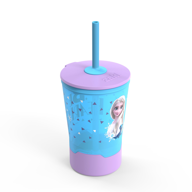 Disney Frozen 2 Movie 16 ounce Mighty Mug Tumbler with Straw, Princess Elsa slideshow image 3