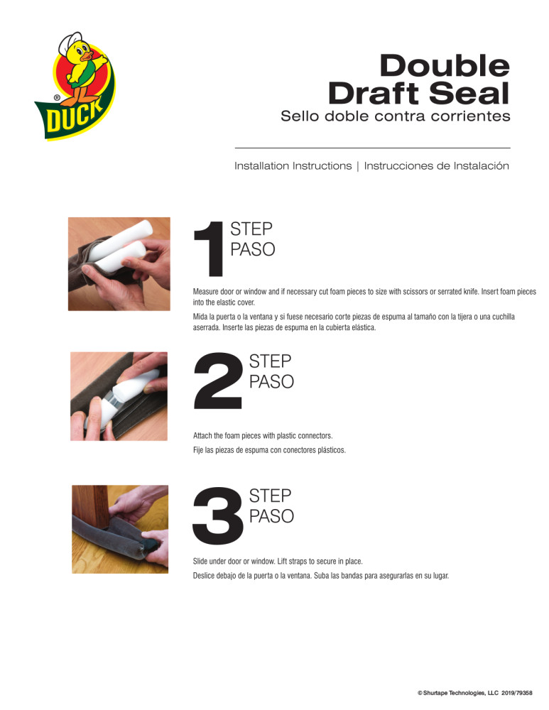 Duck WS Double Draft Seal Installation Instructions.pdf