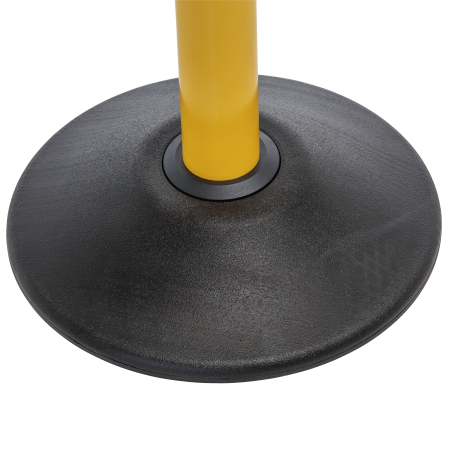 Premium Steel Stanchion - Yellow with CYB belt 12