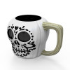 Halloween 15 ounce Coffee Mug and Spoon, Sugar Skull slideshow image 4