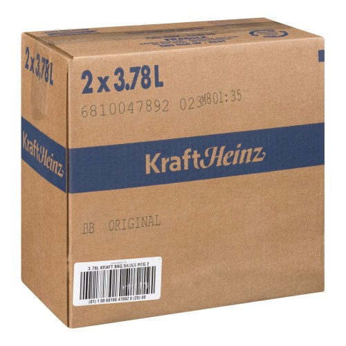 KRAFT Barbecue Sauce Regular 3.78L 2