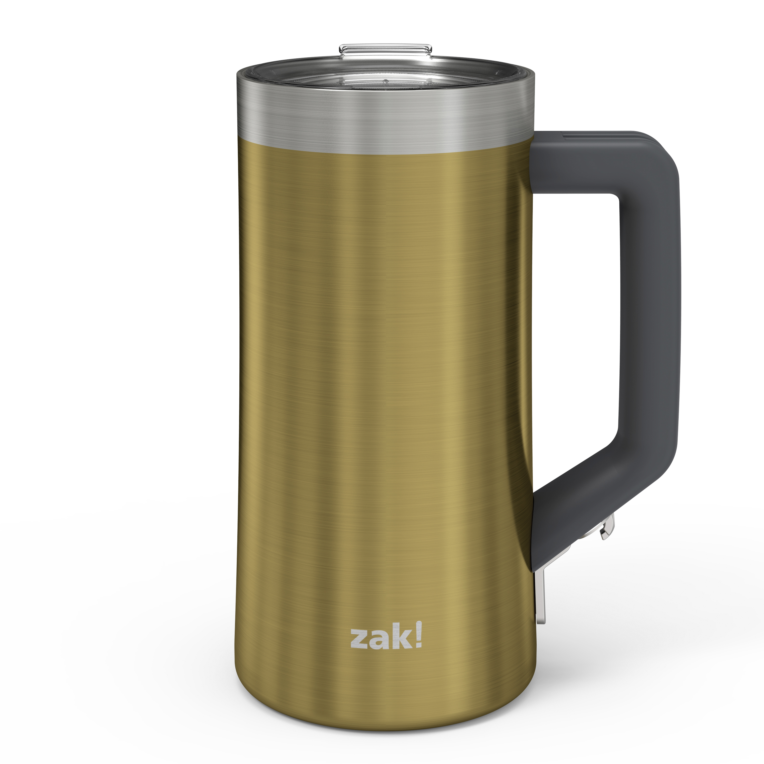 Creston 25 ounce Vacuum Insulated Stainless Steel Tumbler, Gold slideshow image 1