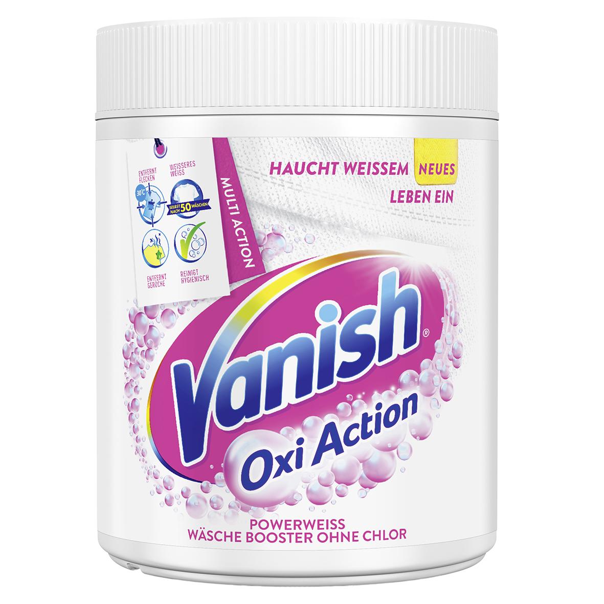 Vanish Oxi Action Pulver Powerweiss 550g