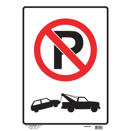 No Parking Sign (12