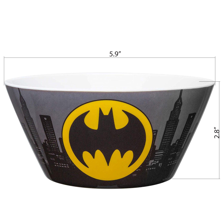 DC Comics Dinnerware Set, Batman, 3-piece set slideshow image 2