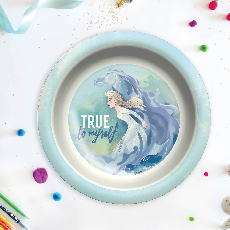Disney Frozen 2 Movie Kids Plate and Bowl Set, Anna & Elsa, 2-piece set slideshow image 8