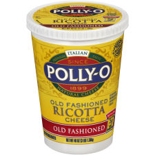 Polly-O Old Fashioned Whole Milk Ricotta Cheese 48 oz Tub
