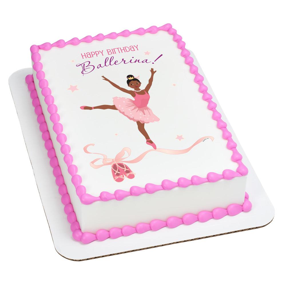 Birthday Ballerina African American
