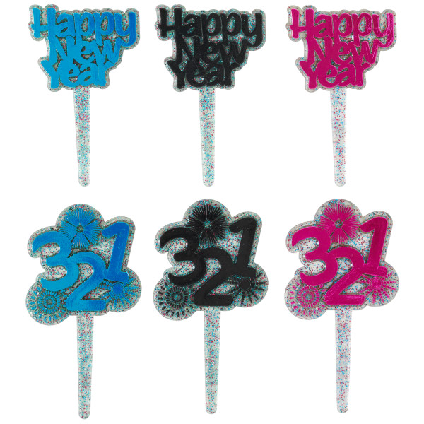 New Year's Countdown Assortment DecoPics®