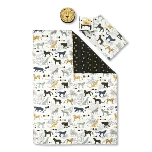 Dreamit - Kids Bedding Set Safari Wild Cats