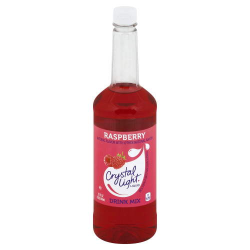 Crystal Light Liquid Concentrate - Raspberry, 32 oz.