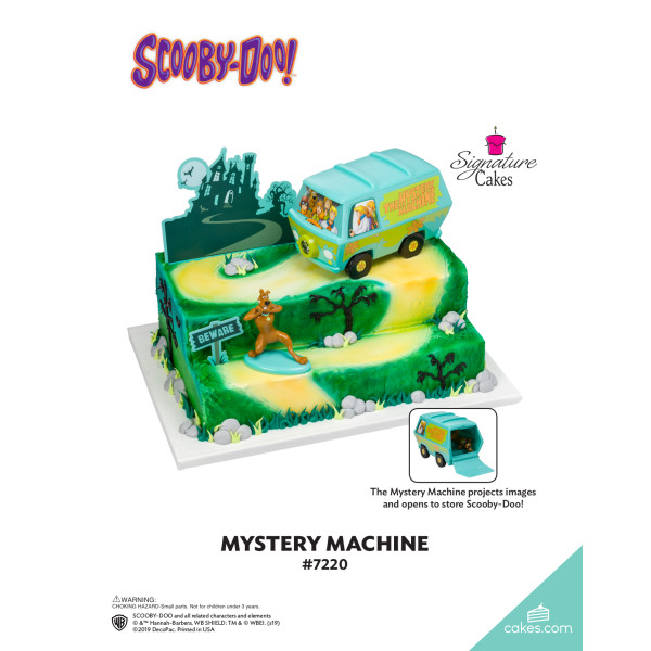 Scooby-Doo!™ Mystery Machine Signature DecoSet® The Magic of Cakes® Page