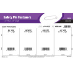 Safety Pin Fastener Assortment