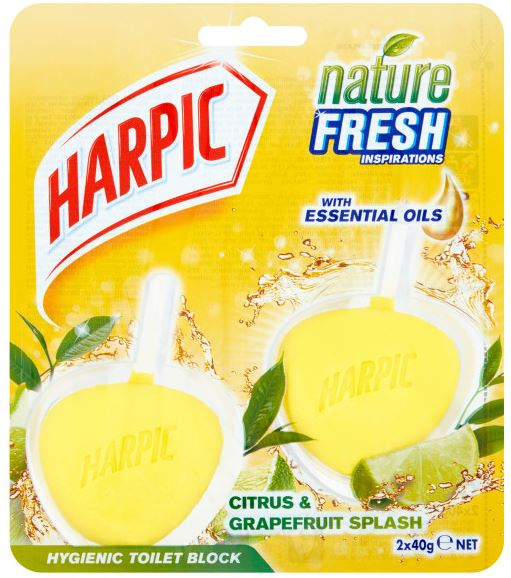 Hygienic Toilet Block Citrus & Grapefruit Splash.