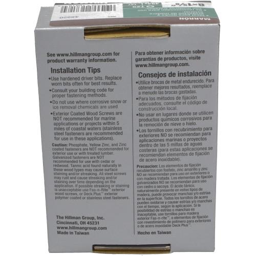 Deck Plus Brown Deck Screw - 1lb Box (#8 x 1-5/8