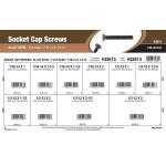 """Flat-Head Socket Cap Screws Assortment (7/16""""-14 & 1/2""""-13 Thread)"""
