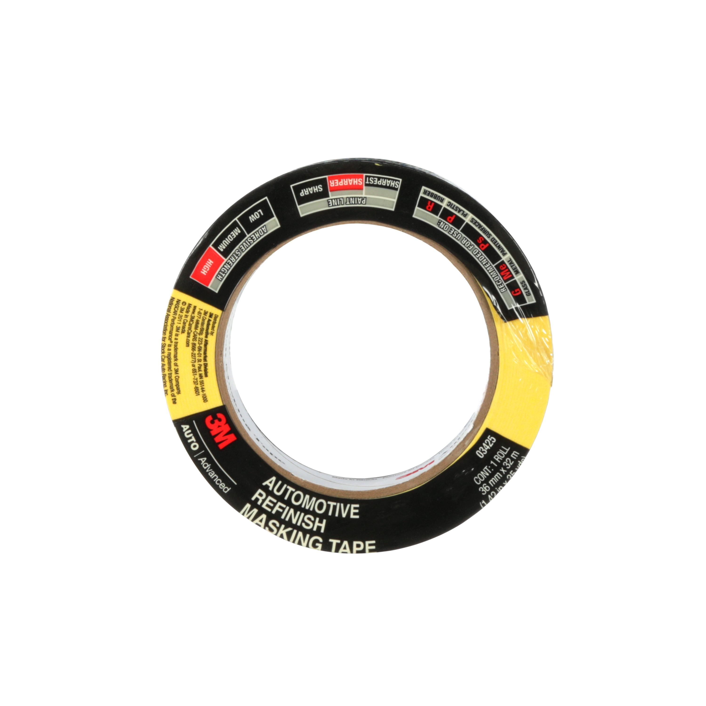 3M™ Automotive Refinish Masking Tape, 03425, 36 mm x 32 m, 24 per case