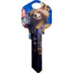 Rocket Raccoon Key Blank