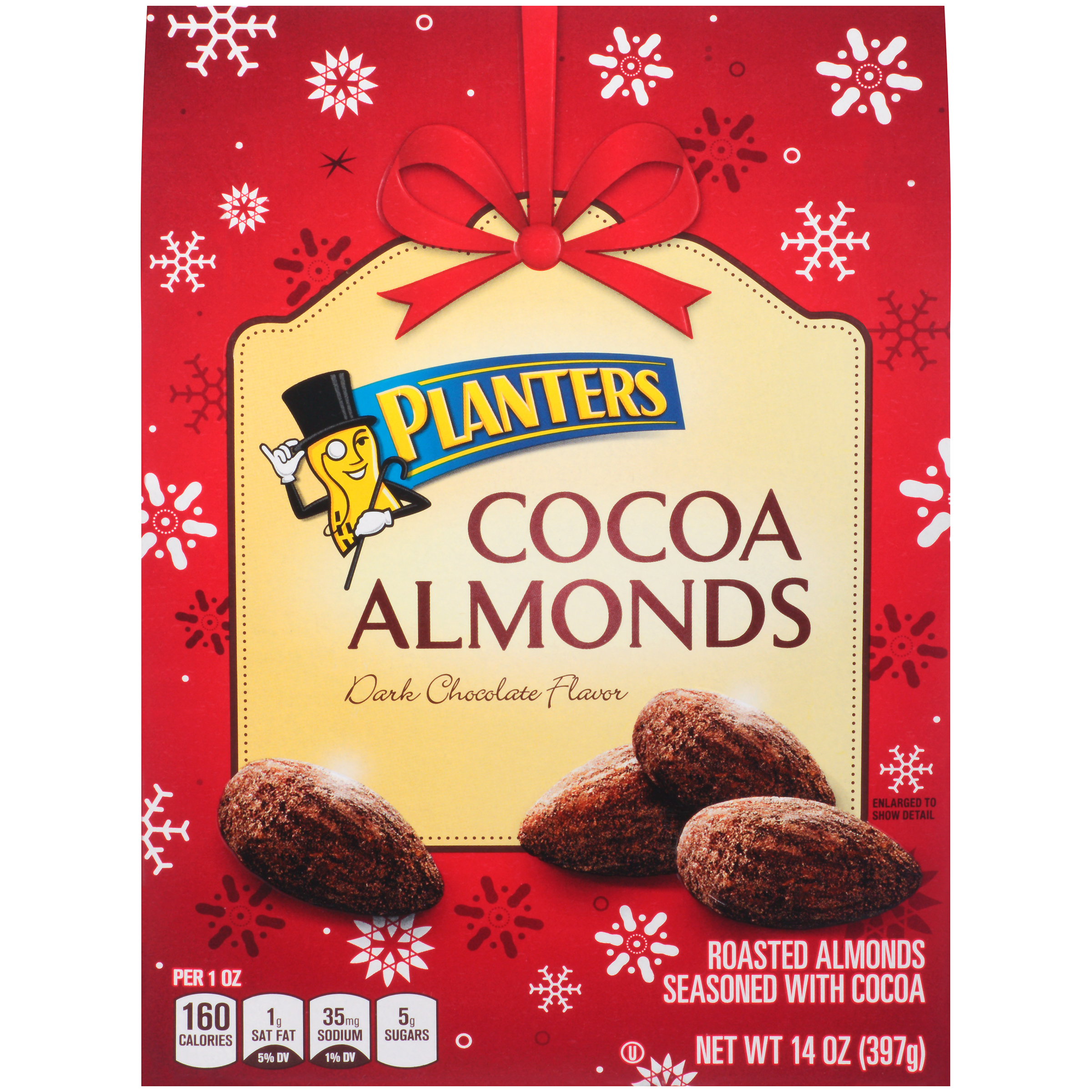 Planters Cocoa Almonds 14 oz. Box image