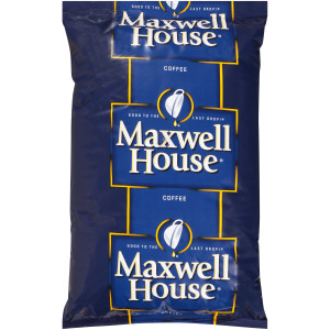 MAXWELL HOUSE Ground Coffee Dispenser Pack, 4 Lb. Bag (Pack of 6) image