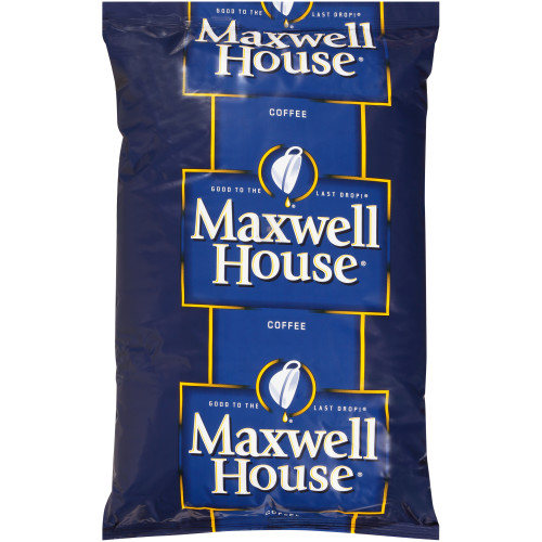 MAXWELL HOUSE Ground Coffee Dispenser Pack, 4 Lb. Bag (Pack of 6)
