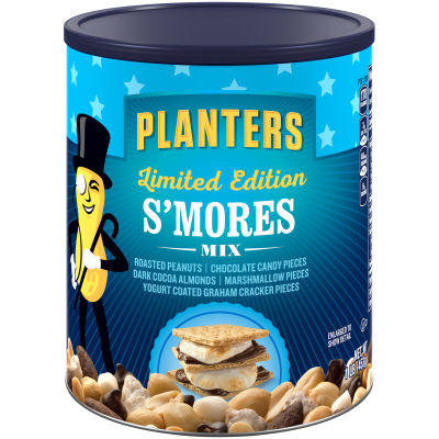 Planters S'mores & Nut Mix 16 oz Can