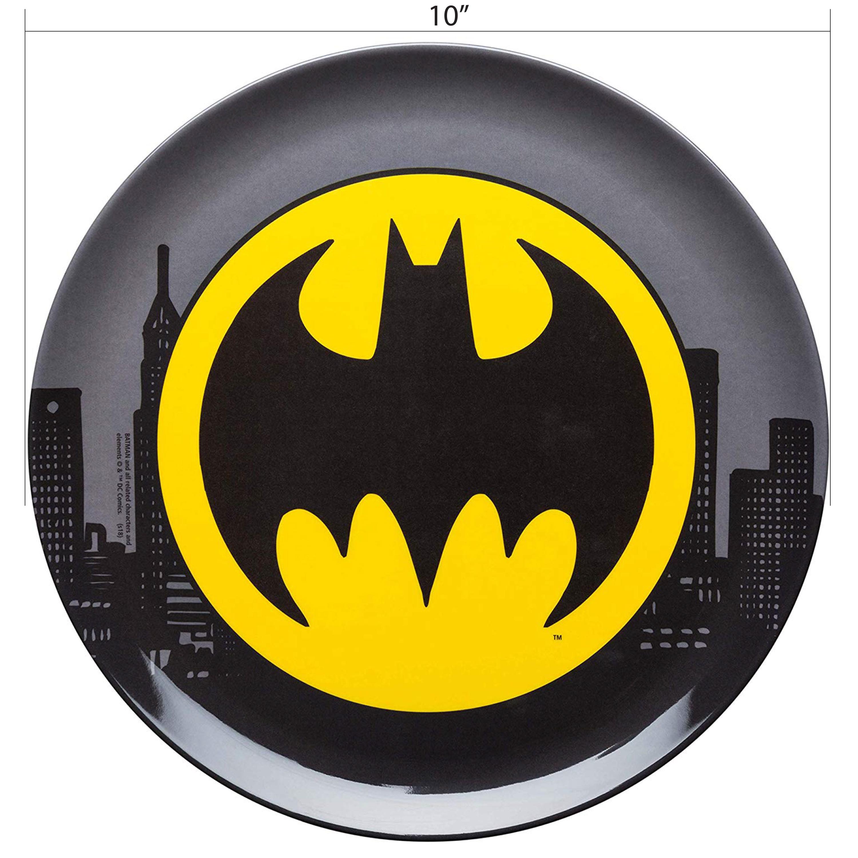 DC Comics Plate and Bowl Set, Batman, 2-piece set slideshow image 6