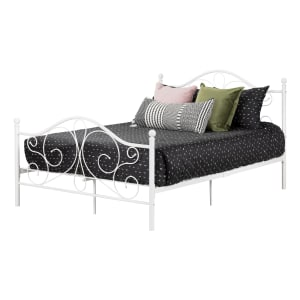 Summer Breeze - Complete Metal Platform Bed